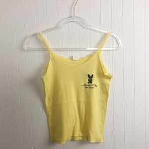 Vintage 1970s Playboy tank top >> Size Small